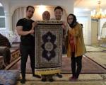 ペルシャ絨毯工房訪問⑥