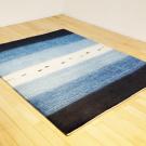 アマレ・リビングサイズ・青色、白色・グラデーション、魚・使用イメージ画