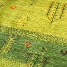 アマレ・リビングサイズ・緑色・生命の樹、孔雀・アップ画