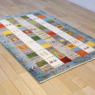 カシュクリ・センターサイズ・カラフル、青色・木、ラクダ・使用イメージ画