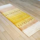 カシュクリ・165×61・黄色・木・砂漠・キッチンサイズ・廊下敷き・使用イメージ画