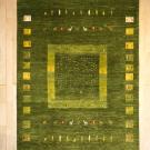アマレ・222×168・木・鹿・小花・緑・グラデーション・リビングサイズ・真上画
