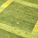 アマレ・222×168・木・鹿・小花・緑・グラデーション・リビングサイズ・アップ画