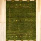 アマレ・179×119・緑・キャラバン・ラクダ・センターラグサイズ・リビングサイズ・真上画