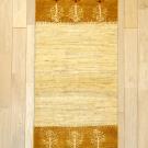 アマレ・141×53・ベージュ・黄色・木・キッチンサイズ・廊下敷き・真上画