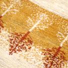 アマレ・141×53・ベージュ・黄色・木・キッチンサイズ・廊下敷き・アップ画