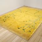 アマレ・リビングサイズ・黄色・生命の樹・鹿・使用イメージ画