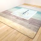 アマレ・リビングサイズ・寒色・原毛・生命の樹・窓・使用イメージ画