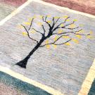 アマレ・リビングサイズ・寒色・原毛・生命の樹・窓・アップ画