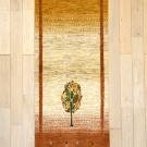 カシュクリ・廊下・キッチンサイズ・白色・暖色・木・真上画