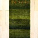 アマレ・廊下、キッチンサイズ・緑色・木・人・真上画