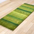 アマレ・廊下、キッチンサイズ・緑色・木・人・使用イメージ画
