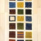 アマレ・廊下・キッチンサイズ・カラフル・格子状・パッチワーク・真上画