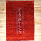 アマレ・リビングサイズ・赤色・生命の樹・真上画