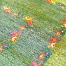 アマレ・242×173・緑・ラクダ・グラデーション・リビングサイズ・アップ画