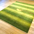 アマレ・リビングセンターサイズ・緑色・ラクダ・キャラバン・太陽・使用イメージ画
