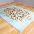 ルリバフ・リビング、センターサイズ・青色・ザクロ、生命の樹・使用イメージ画