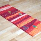 カシュクリランドスケープ・その他サイズ・赤色、カラフル・糸杉、木、花、ラクダ・使用イメージ画