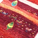 カシュクリランドスケープ・その他サイズ・赤色、カラフル・糸杉、木、花、ラクダ・アップ画