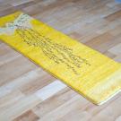 カシュクリランドスケープ・その他サイズ・黄色・生命の樹、山、鳥、鹿・使用イメージ画