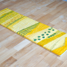 カシュクリランドスケープ・126×38・黄色・木・山・風景・草原・キッチンサイズ・その他サイズ・使用イメージ画