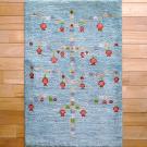 アマレ・97×63・青・ザクロ・生命の樹・玄関サイズ・真上画