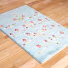アマレ・97×63・青・ザクロ・生命の樹・玄関サイズ・使用イメージ画
