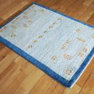 アマレ・88×63・青・羊・ヤギ・木・植物・玄関サイズ・使用イメージ画