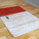 アマレ・98×62・赤・ベージュ・糸杉・羊・原毛・玄関サイズ・使用イメージ画