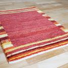 アマレ・90×65・赤・縞模様・鹿・窓・木・玄関サイズ・使用イメージ画
