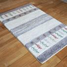 アマレ・95×62・ベージュ・グレー・原毛・植物・糸杉・木・玄関サイズ・使用イメージ画