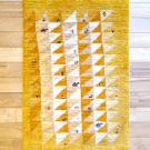 アマレ・92×62・黄色・原毛・三角・ラクダ・羊・木・玄関サイズ・真上画