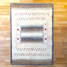 アマレ・180×123・茶色・原毛・ベージュ・ヤギ・窓・木・玄関サイズ・真上画