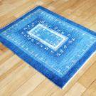 アマレ・84×63・青・孔雀・鳥・窓・玄関サイズ・使用イメージ画