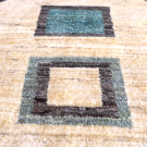 アマレ・84×63・青・水色・ベージュ・原毛・窓・四角・玄関サイズ・アップ画