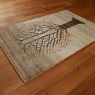 カシュクリ・92×59・原毛・生命の樹・玄関サイズ・使用イメージ画
