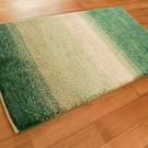 アマレ・玄関マットサイズ・緑色、ベージュ・使用イメージ画