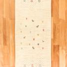 アマレ・152×51・白・原毛・羊・木・廊下敷き・真上画