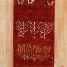 アマレ・134×51・赤色・花・植物・廊下敷き