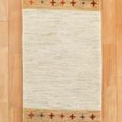 アマレ・155×51・茶色・白・原毛・ひし形・キッチンサイズ・廊下敷き・真上画