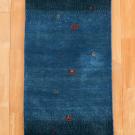 カシュクリ・青色・シンプル・廊下敷き・キッチンサイズ・真上画