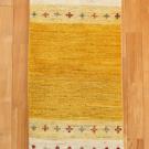 アマレ・143×50・黄色・ひし形・シンプル・廊下敷き・真上画