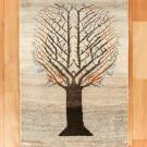 カシュクリ・92×59・原毛・生命の樹・玄関サイズ・真上画