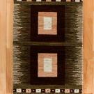 アマレ・玄関マットサイズ・茶色、原毛・四角形・真上画