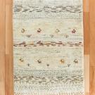アマレ・90×69・白・原毛・鹿・木・玄関サイズ・真上画