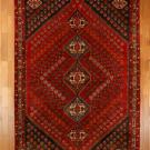 シラーズ・271×177・赤色・リビングサイズ・真上画