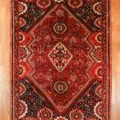 シラーズ・256×166・赤色・リビングサイズ・真上画