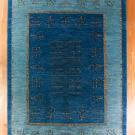 アマレ・大型ルームサイズ・青色・生命の樹・真上画
