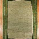 アマレ・大型ルームサイズ・緑色・木、花・真上画