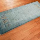 アマレ・149×54・水色・小花・木・植物・廊下敷き・使用イメージ画